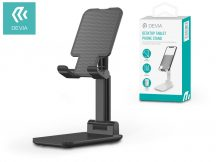 """Devia univerzális asztali telefon/tablet tartó max. 11"""", méretű készülékhez - Devia Desktop Tablet/Phone Stand - black"""