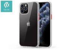 Apple iPhone 12/12 Pro ütésálló hátlap - Devia Shark Series Shockproof Case - clear/transparent