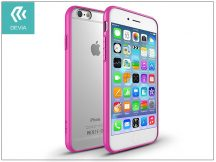 Apple iPhone 6/6S hátlap - Devia Hybrid - rose pink