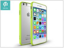 Apple iPhone 6/6S hátlap - Devia Hybrid - lemon green