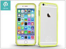 Apple iPhone 6/6S hátlap - Devia Classic Bumper - lemon green