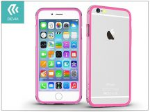 Apple iPhone 6/6S hátlap - Devia Classic Bumper - pink