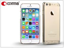Apple iPhone 6/6S hátlap Swarovski kristály díszitéssel - Comma Crystal Bling - champagne gold