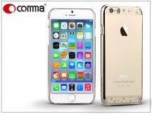 Apple iPhone 6/6S hátlap Swarovski kristály díszitéssel - Comma Crystal Bling - champagne gold