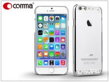Apple iPhone 6/6S hátlap Swarovski kristály díszitéssel - Comma Crystal Bling - silver
