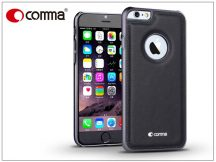 Apple iPhone 6/6S valódi bőr hátlap - Comma Icon - black
