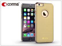 Apple iPhone 6/6S valódi bőr hátlap - Comma Icon - champagne