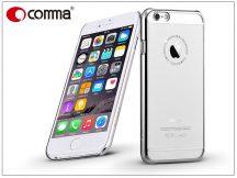 Apple iPhone 6/6S hátlap Swarovski kristály díszitéssel - Comma Crystal Jewelry - silver