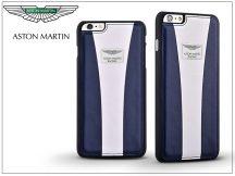 Apple iPhone 6/6S valódi bőr hátlap - Aston Martin Racing Strap - blue/white