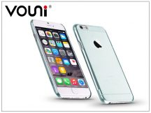 Apple iPhone 6/6S szilikon hátlap - Vouni Pure - crystal blue