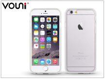 Apple iPhone 6/6S szilikon hátlap - Vouni Duo - crystal white/white