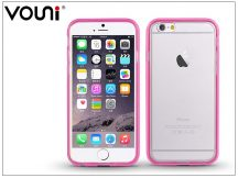 Apple iPhone 6/6S szilikon hátlap - Vouni Duo - crystal white/pink