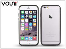 Apple iPhone 6/6S szilikon hátlap - Vouni Duo - crystal white/gun black