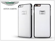 Apple iPhone 6/6S valódi bőr hátlap - Aston Martin Racing - white