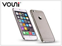 Apple iPhone 6 Plus/6S Plus szilikon hátlap - Vouni Pure - crystal black