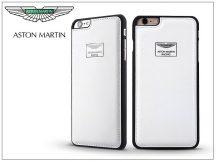 Apple iPhone 6 Plus/6S Plus valódi bőr hátlap - Aston Martin Racing - white