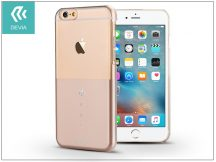 Apple iPhone 6/6S hátlap Swarovski kristály díszitéssel - Devia Crystal Unique - champagne gold