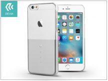 Apple iPhone 6/6S hátlap Swarovski kristály díszitéssel - Devia Crystal Unique - silver
