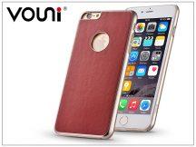 Apple iPhone 6/6S valódi bőr hátlap - Vouni Excellence - passion red