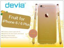 Apple iPhone 6/6S hátlap - Devia Fruit - lemon