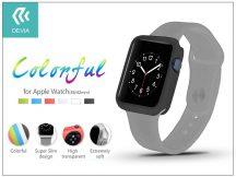 Apple Watch védőtok - Devia Colorful 38 mm - black