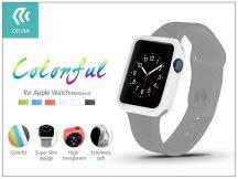 Apple Watch védőtok - Devia Colorful 42 mm - white