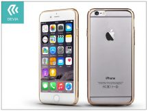 Apple iPhone 6/6S hátlap - Devia Glimmer update version - champagne gold