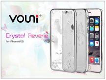 Apple iPhone 6/6S hátlap kristály díszitéssel - Vouni Crystal Reverie - silver