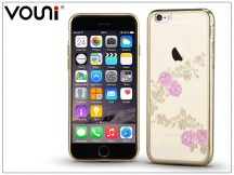 Apple iPhone 6/6S hátlap kristály díszitéssel - Vouni Crystal Fragrant - champagne gold