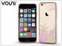 Apple iPhone 6 Plus/6S Plus hátlap kristály díszitéssel - Vouni Crystal Gorgeous - champagne gold