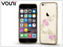 Apple iPhone 6 Plus/6S Plus hátlap kristály díszitéssel - Vouni Crystal Fragrant - champion gold