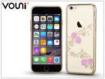 Apple iPhone 6 Plus/6S Plus hátlap kristály díszitéssel - Vouni Crystal Fragrant - champion gold