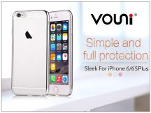 Apple iPhone 6 Plus/6S Plus hátlap - Vouni Sleek - silver