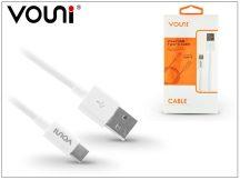 USB - USB Type-C adat- és töltőkábel 1 m-es vezetékkel - Vouni Vivan USB Type-C 2.0 Cable - white