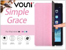 Apple iPad Mini 4 védőtok on/off funkcióval - Vouni Simple Grace - pink