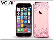 Apple iPhone 6/6S hátlap kristály díszitéssel - Vouni Crystal Firework - rose gold