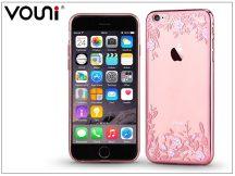 Apple iPhone 6 Plus/6S Plus hátlap kristály díszitéssel - Vouni Crystal Firework - rose gold