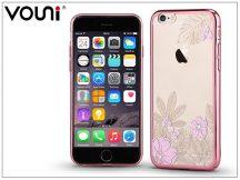 Apple iPhone 6 Plus/6S Plus hátlap kristály díszitéssel - Vouni Crystal Gorgeous - rose gold