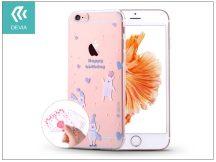Apple iPhone 6/6S szilikon hátlap - Devia Vango Soft - ice bear