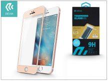 Apple iPhone 6/6S üveg képernyő- + Crystal hátlapvédő fólia - Devia Jade Full Screen Tempered Glass 0.18 mm - 1 + 1 db/csomag - ch. gold