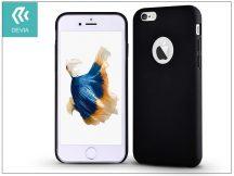 Apple iPhone 6/6S hátlap - Devia Ceo - black