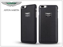 Apple iPhone 7 Plus/iPhone 8 Plus valódi bőr hátlap - Aston Martin Racing - black