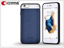Apple iPhone 6/6S valódi bőr hátlap - Comma Vivid Leather - blue