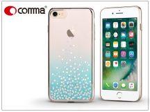 Apple iPhone 7/iPhone 8 hátlap Swarovski kristály díszitéssel - Comma Unique Polka 360 - green