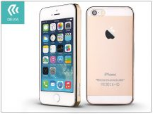 Apple iPhone 5/5S/SE hátlap - Devia Glimmer - gold