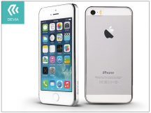 Apple iPhone 5/5S/SE hátlap - Devia Glimmer - silver