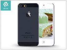 Apple iPhone 5/5S/SE hátlap - Devia Smart - smoke black