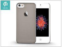 Apple iPhone 5/5S/SE hátlap - Devia Frosted - smoky black