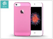 Apple iPhone 5/5S/SE hátlap - Devia Frosted - crystal pink