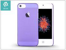Apple iPhone 5/5S/SE hátlap - Devia Frosted - crystal purple